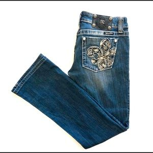 MISS ME Boot cut jeans. Size 29
